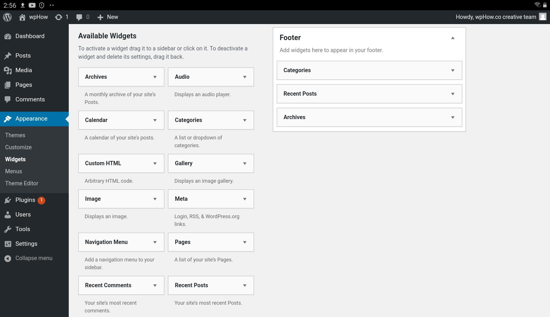 widget-menu