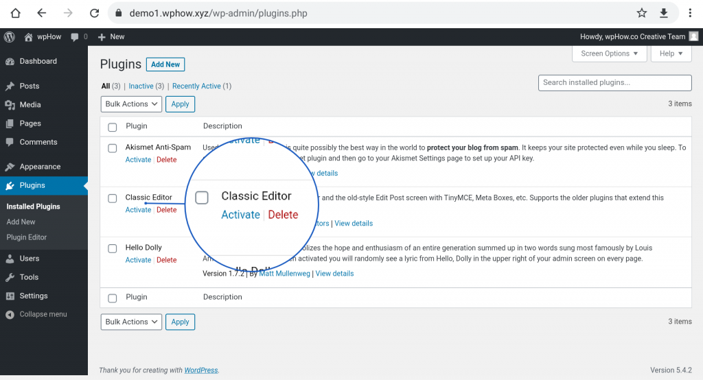 how to add Classic Editor In WordPress?