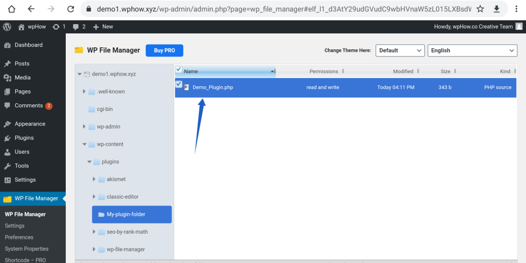 Add A New Plugin In WordPress