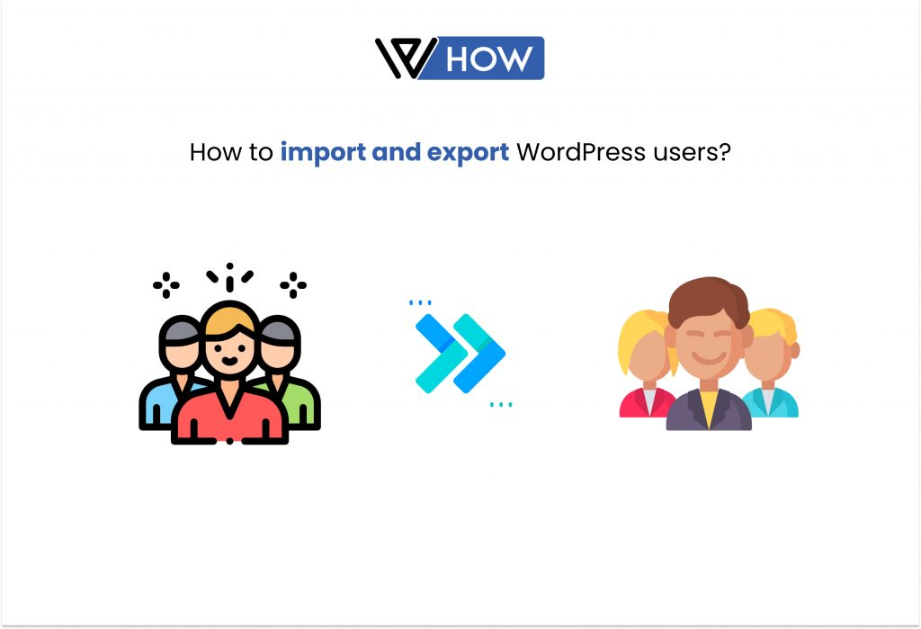 How to import and export WordPress users? (Exporting WordPress users) - Title image